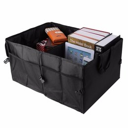 Fold Up Boxes Promo Codes   Folding Car Back Up Storage Box Trunk Bag  Container