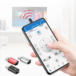 Deutschland Fernbedienung für iPhone Xs Max XR X 8 7 6 TV Klimaanlage Wireless Infrarot Sender Air Mouse Smart IR Controller Versorgung