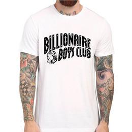Canada Livraison Gratuite BILLIONAIRE GARÇONS CLUB Tee BBC T-shirt Hommes Hip Hop Coton Tshirt O Cou milliardaire Homme Tops Shirt supplier bbc shirts Offre