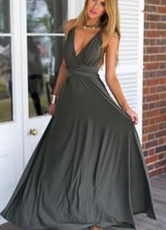 vestido maxi de corda Desconto Moda nova Multi-desgaste Multi-corda de volta Sexy bandage dress mulheres de Verão saia longa do vestido Robe Maxi Vestido Envelope Vestidos