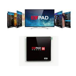 Wholesale EVPAD S Android TV Box G G K Lebensdauer der Smart TV Box iptv Korea Japan Malay SG HK TW CN Indien Thailand VN von Evpad S aufgerüstet