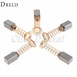 dremel tool accessories Promo Codes - ools Power Tool Accessories 10pcs 5Pairs Mini Drill Accessories Carbon Brush Dremel Rotary Tool Spare Parts for Generic Electric Motor Po...