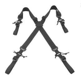 Nouvelle arrivée sangles poids X-type Multi-fonction extérieure lanière de bandoulière tactique Sac de sport professionnel corde tactique Sling tactique ? partir de fabricateur
