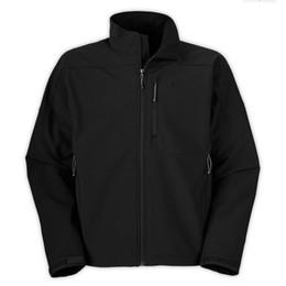 2019 cappotto di pelliccia blu cappotto uomini Giacche da uomo North Denali Fleece Apex Bionic Giacche outdoor antivento impermeabili casual SoftShell Warm Face Apex Bionic Cappotti Taglia S-XXL