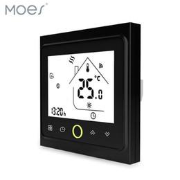 Canada Thermostat intelligent Régulateur de température Chauffage au sol, Chaudière au gaz, Chauffage électrique au sol, Fonctionne avec Alexa Echo Google Home Tuya Offre