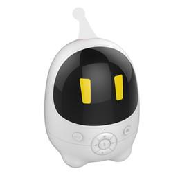Robot d'éducation précoce, interphone vocal intelligent avec jouet de bébé avec réveil petit calme, tutoriel de synchronisation WiFi, résolution riche en éducation ? partir de fabricateur