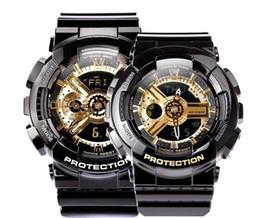 luz de temporização nova Desconto 2019 nova moda dos homens das mulheres designer de marca relógios de alta qualidade led luz hora mundial alarme com data esportes relógio amantes presente