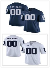 85ccbba2e Cheap custom Penn State Men s College football jersey Customized College  Football Jersey Any name number Stitched Jersey XS-5XL penn state jerseys  for sale