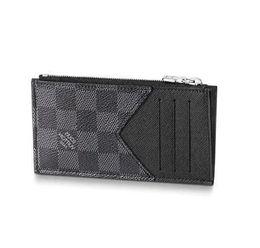 Cinturones de tarjeta de crédito online-2019 COIN CARD HOLDER N64038 Hombres Bolsos de cinturón BOLSOS DE PIEL EXÓTICOS BOLSOS ICÓNICOS EMBRAGUE Portafolio BOLSOS DE MONTAR