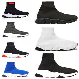 Balenciaga Speed Trainer Luxury Brand Sock Scarpe per uomo Donna Scarpe da  corsa Nero Bianco Rosso Blu Oreo Mens Designer Scarpe da ginnastica Sport  ... 5f016fe990f