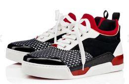 2019 fabrik direkt sneakers 2019 direkt ab Werk heiß Aurelien Turnschuhe Flache Frauen, Mens Red Bottom Schuh Perfekte Qualität Casual Outdoor Trainer Perfektes Geschenk