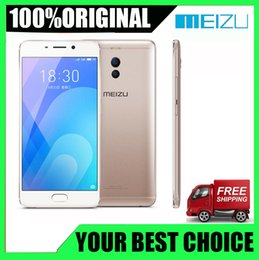 android 5.5 inch fingerprint phone Promo Codes - Brand New Original Meizu M6 Note 6 3GB 32GB 4G network Snapdragon 625 Octa Core 5.5 inch Cell Phone fingerprint GPS WIFI