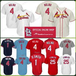 447994ca30f 2019 baseball de smith 4 Yadier Molina St. Louis Jersey Cardeais Cardeais 1  Ozzie Smith