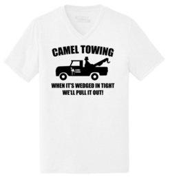rude t shirts Promo Codes - Mens Camel Towing Rude Humor Funny Shirt Triblend V-Neck Truck Sex Party Tees Custom Jersey t shirt