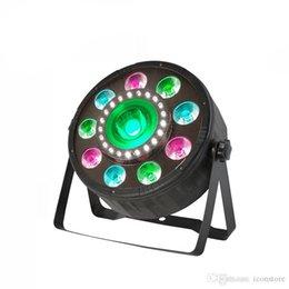luz de escenario de alta potencia láser Rebajas COB partido PAR plástico del disco del LED Lighting Effect