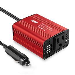 Wechselrichter ladegeräte für autos online-150W Auto Power Inverter DC 12V zu 110V AC Konverter mit 3.1A Dual USB-Autoladegerät