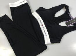 Damen kurze hosen online-MAYFULL neuer Frühling sleeveless Oansatzkurzschlussweste dünner Hosenmarkenfrauen in voller Länge sports zweiteilige gesetzte Klage Dame 2pcs