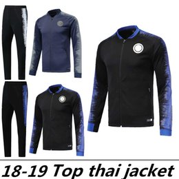 78d0bfce16e79 2019 meilleurs survêtements Ensembles de vestes de survêtement INTER de  meilleure qualité 2018 19 ICARDI