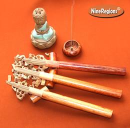 Palos de sándalo online-72 varillas de incienso Mysore de palo de sándalo aromático natural de alta calidad, sandalia india incienso con tubo de palo de rosa, incienso de fragancia para el hogar