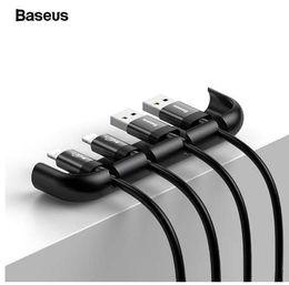2019 filo di installazione Baseus USB Cable Organizer Management Winder Protector Dispositivo per l'installazione di film temperato con supporto per cavo di filo metallico per iPhone XS Max XR X sconti filo di installazione