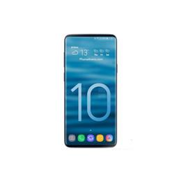 Wholesale Goophone ES10 плюс plus дюйма ГБ ГБ G WCDMA Изогнутый экран HD Dual SIM WIFI Разблокирована Сотовый телефон Герметичная коробка