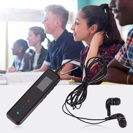 usb pen mp3 player radio Desconto Gravadores de 8GB de voz digital USB 2.0 de alta velocidade de ruído de rádio Pen Gravação Cancelamento de Áudio Som FM MP3 Music Player