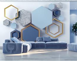 Телефон 3d обои 3d современный минималистский геометрический мрамор гостиная спальня фон отделка стен настенные обои от