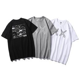 Argentina UNIQLO UT x KAWS x SESAME STREET Camisetas para hombres Ropa de Japón F S Cool casual pride camiseta hombres Unisex Moda camiseta Hombres Mujeres Unisex Fash cheap t shirts men japan Suministro