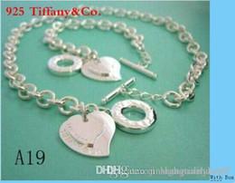 Tasarımcı Takı Kalp kilit Yeni Takı Setleri tiff925 Gümüş Bilezik ve Kolye Setleri ile Moda bayan Takı Setleri kutu glitter nereden
