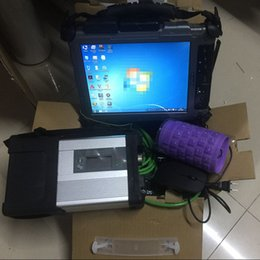 tableta xplore Rebajas V05.2019 Software para Mb Star C5 SD Compact 5 en 240GB Mini SSD y Xplore IX104 Tablet I7 8G usados para la herramienta de diagnóstico automático de Star