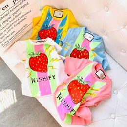 5577af225 baby clothing prices Promo Codes - Children's wear Unisex baby T-shirt Short  sleeve Summer