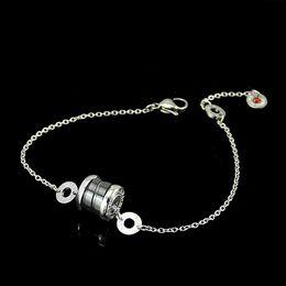 2019 braccialetti in ceramica di zirconia Classici gioielli di beneficenza in ceramica nera piccolo uomo rosso donna braccialetto uomini e donne braccialetto di fascino Pulseira fine gioielli regalo di Natale sconti braccialetti in ceramica di zirconia