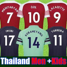7f91fc2f81db0 conjunto de kits de fútbol Rebajas Mejor tailandia aaa Temporada Arsenal  soccer jersey 2017 2018 jerseys