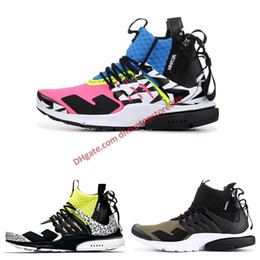 acc74b82b51b 2019 Hot sale run Acronym x Presto Mid design sneakers trainer new men best  quality graffiti sock shoes women black white WINTER men boots