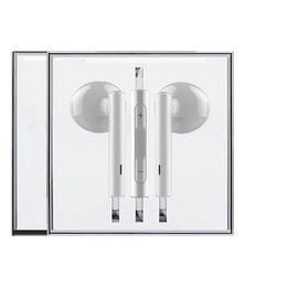 fone de ouvido Desconto Fone de ouvido fone de ouvido earbuds com microfone controle de volume fone de ouvido para iphone 5 6 7 8 x samsung s6 s7 s8 android telefone