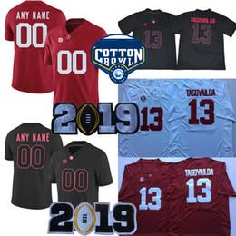 aa240a1e9 Alabama Crimson Tide 2019 Championship Cotton Bowl Jalen Hurts Tua  Tagovailoa Mac Jones Damien Harris Najee Harris college Jersey