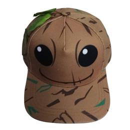 Boné de beisebol pequeno on-line-Anime em torno da pequena árvore homem chapéu dead garçom relâmpago dragon ball fashion bico de pato boné de beisebol