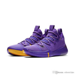 sports shoes 6fff3 5e423 Mens kobe ad 12 basketball shoes Purple Team Red Blue USA Black White Pink  low cut youth kids kb xii elite sneakers boots with box size 7 12