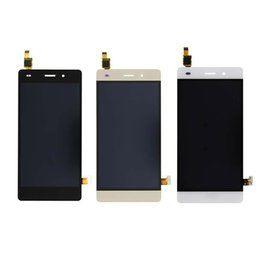 parts for huawei Coupons - Wholesale 10Pcs For HUAWEI P8 Lite LCD Display LCD Screen Digitizer Touch Panel Assembly Phone Parts