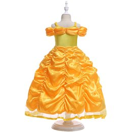 Fille Princesse Robe filles Costume Princesse Robe Condole Ceinture Peng Peng Manches De Noël Halloween Party Girl Cosplay Robe ? partir de fabricateur