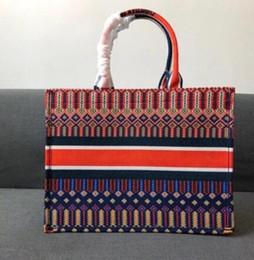 2019 sac de mariage crème 2019 Nouvelles sacs de mode pour femmes Totes Bag Sac à main Sacs à main Toile Totes Sac à main Grand sac à provisions avec livraison gratuite