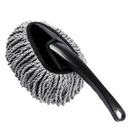 strumenti di decapaggio Sconti Car Wash spazzola di pulizia Duster polvere Cera Mop microfibra telescopica Spolverare strumento di auto LAVATRICE spazzola Mop Introduzioni: Mu