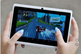 tableta china teléfono sim Rebajas Envío libre Cámara dual Q88 PC de la tableta de 7 pulgadas Android 4.2 A23 7 pulgadas Tablet PC CPU de doble núcleo, cámara de 8 GB