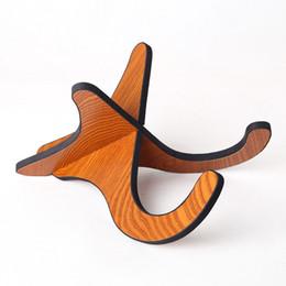 Violín cítara de madera pequeña guitarra plegable soporte vertical desde fabricantes
