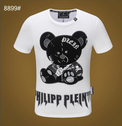 8388195b03c0 youth t shirts Promo Codes - 2019 Spring Summer Fashion Designer Brand T- shirt Embroidered