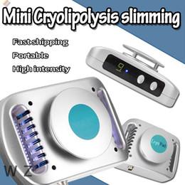 Mini enfriador online-2018 el más nuevo CryoPad Mini congelación gorda que adelgaza la máquina Pequeñas almohadillas de la congelación que refrescan la almohadilla para las grasas de cuerpo que adelgaza la máquina CE personal / DHL