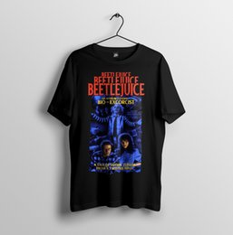 2019 sh shorts Beetlejuice, Tim Burton, Exorciste Bio, Halloween - T-shirt Unisexe Homme S-3XL T-shirt en coton à manches courtes simple promotion sh shorts