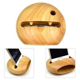2019 handy verstärker Mobile Wooden Cell Stand mit Sound Amplifier Phone Holder Schreibtischhalterung J190507 rabatt handy verstärker