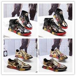 2019 известный бренд Tide обувь Medusa модная мужская обувь эксклюзивная мужская аристократическая темперамент повседневная обувь Размер 38-44 cheap exclusive casual shoes от Поставщики эксклюзивные ботинки