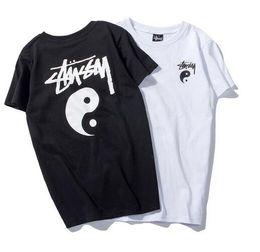 Culture t shirts en Ligne-T-shirt D'été Hommes Femmes T-shirt Hip Hop Street Culture Coton Haute Qualité En Coton 16310